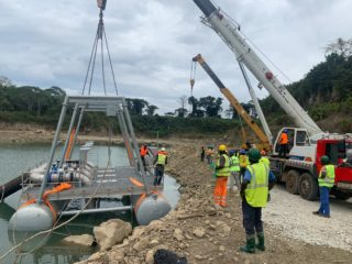 Renforcement de la production d'eau potable de libreville